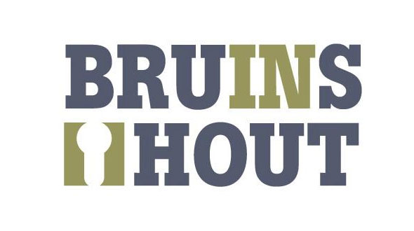 Bruins in Hout