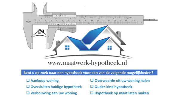 Maatwerk Hypotheek